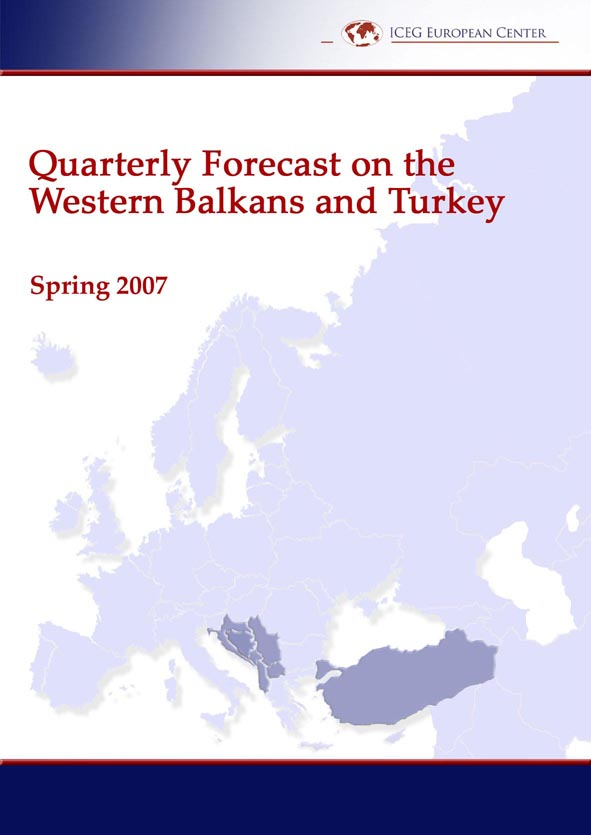 Quarterly Forecast on the Western Balkans and Turkey